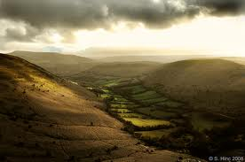 Brecon Beacons close to Lothlorien.