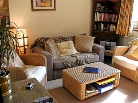 The comfortable and welcoming Living Room
